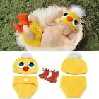 Newborn Baby Knit Crochet Duck Chick Clothes Hat Photo Photography Prop Outfit