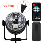 Projector Ball  RGB Sound Activated Remote Control Stage Lamp Led Disco Light