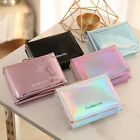 US Fashion Leather Small Wallet Luxury Women Short Coin Zipper Purse Card Holder image