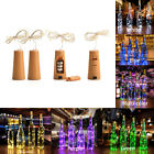 Wine Bottle Lights with Cork Copper Wire Fairy String Lights Decor Wedding Party