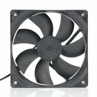 120mm 4Pins 12V PC CPU Host Chassis Computer Case IDE Fan Cooling Cooler BLACK