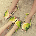 Unisex Kid Adult Animal Funny Fish Shape Slippers Sandals Beach Flip Flops Shoes