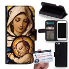 JESUS CHRISTIAN CROSS BIBLE VERSE Wallet Flip Cover for Samsung Note Series