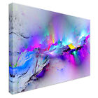 Modern Abstract Boom Canvas Wall Art Picture Print