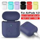 Premium Airpods Silicone Case Cover Protective Skin for Apple New Airpod 2 / 1