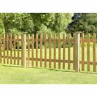 Forest Garden 6ft X 4ft (1.83m X 1.2m) Pale Picket Fence Panel