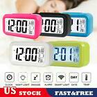 LCD Digital Clock Battery Operated Snooze Electronic Alarm Clocks For Kids Gift