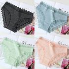 Women's Underwear Panties Low Waist Lace Breathable Sexy Cotton Briefs Knickers