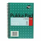 Pukka Pad A4, A5, A6 Business and School Metallic Range Jotta Notebook 200pages