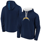 Los Angeles Chargers Majestic Men's Defender Primary Logo Pullover Hoodie-Navy $69.95 USD on eBay