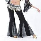 New Sexy belly dance Costume Fishtail trousers Pants skirt 10 colors