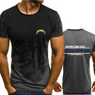 Los Angeles Chargers Rugby Team Men's T-Shirt Short Sleeve Casual Top Tee $12.99 USD on eBay