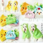 Grooming Product Dog Bathrobe Cat Shower Blankets Hooded Pajamas Pet Bath Towel