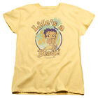 Betty Boop LIFE'S A BEACH Palm Trees Vintage Style Licensed T-Shirt All Sizes $32.13 AUD on eBay