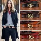 Women's Leather Belts Jeans Belt With Letter G-Style Logo wide 2.8cm gift