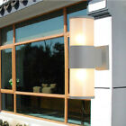 Outdoor 6W/10W/14W LED Wall Sconce Light Fixture E27 Bulb Up/Down Lamp Gate Yard