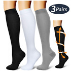 Laite Hebe Compression Socks,(3 Pairs) Sock Women & Men - Best Running, Athletic