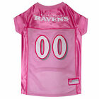 Pets First Baltimore Ravens NFL Pink Mesh Jersey $23.99 USD on eBay