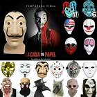 Halloween Scary Adult Head Face Mask Costume Horror Fancy Party Cosplay Props