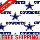 "Dallas Cowboys NFL Cotton Fabric - 58-60"" Wide - Style# 6040 - Free Shipping!! $15.95 USD on eBay"