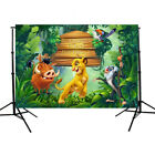 7x5FT birthday backgrounds for photography studio Jungle party Lion King cartoo