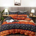 LAMEJOR Dovet Cover Sets Twin Size Bohemia Exotic Patterns Comforter Cover Teal