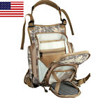 ANGLER DREAM Fly Fishing Pack Camo sports Chest bags Adjustable Fishing Mesh