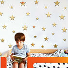 20pcs/set Star Shape Mirror Wall Stickers Paper Home Bedroom Ceiling Decor Nice