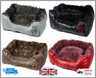 Super Soft Cozy Warm Washable Dog Bed Small & Large Size Fleece Cushion Pets Bed
