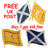 More images of SCOTLAND LION RAMPANT AND / OR SALTIRE METAL PIN BADGES