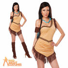 Adult Ladies Indian Native American Beauty Costume Sexy Squaw Fancy Dress Outfit