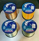 ASSO Casting Nylon Fishing Line  - Bulk 4oz Spool - All Breaking Strains