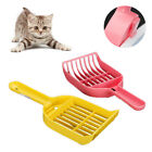 Durable Plastic Pet Cats Sand Litter Shovel Scoop Mesh Food Spoon Cleaning Tool