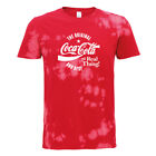 Coca Cola Original And Best White Text Women's Bleach Out T-Shirt $37.24  on eBay