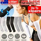 UV Sun Protection Arm Sleeve Cover Cool Wristlet Sock Riding Sport Driving Golf