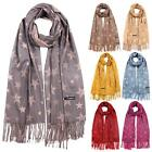 New Women's Pashmina Star Pattern Tassels Winter Scarves Shawls