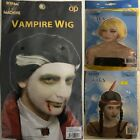 Adult Scary Zombie Vampier Wigs Halloween Costume Party Fancy Dress Accessories