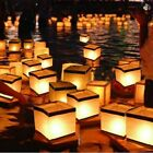 Floating Water Square Lantern Papers Lanterns Floating Candle Wishing Lights New