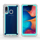 For Samsung Galaxy A10e A11 A20 Shockproof Hybrid Rugged Protective Case Cover