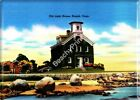 Old Light House Noank Connecticut Refrigerator Magnet Vintage Retro