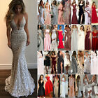US Women's Formal Wedding Evening Cocktail Ball Gown Party Prom Long Maxi Dress $22.51 USD on eBay