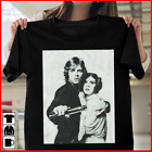Star Wars Luke and Leia Grayscale Mens Graphic T Shirt Size-S-5XL $9.99 USD on eBay