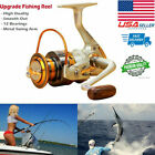12BB Ball Bearing Fishing Spinning Reel Left/Right Interchangeable Folding Arm $9.98 USD on eBay