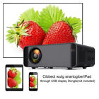 4K HD 1080P LED Android Wifi Smart Home Projector Theater HDMI VGA SD TV