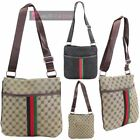LADIES NEW PRINTED MULTI POCKET TRAVEL FESTIVAL CROSSBODY MESSENGER BAG