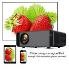 15000 Lumens 1080P Mini Projector Home Theater LED Multimedia HDMI USB AV