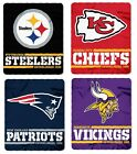 NFL Split Wide Fleece Blanket - Pick Your Team! $19.99 USD on eBay