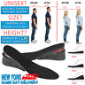Men Women Invisible Heel Lift Taller Shoe Inserts Height Increase Insoles Pad US