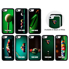 Snooker Personalised Name Case iPhone 5 5s SE 6 6s 7 8 PLUS X XR XS 11 Pro Max $13.51 USD on eBay