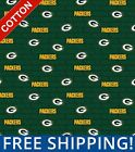 """Green Bay Packers NFL Cotton Fabric - 60"""" Wide - Style# 14494 - Free Shipping! $7.95 USD on eBay"""